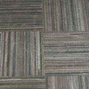 """Dura-Tiles Made From Recycled Tires, 12""""L X 12""""W, 3/8"""" H, Charcoal Grey Earthtone"""
