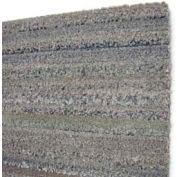 "Dura-Tile Rolls, Chenille Finish 12""W X 25'L, 3/8"" H, Charcoal Grey Earthtone"