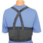 """Standard Back Support Belt, Adjustable Suspenders, 2X-Large, 46-56"""" Waist Size"""