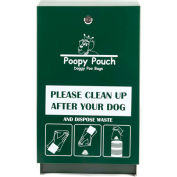 Poopy Pouch Steel Pet Waste Bag Dispenser, Regal