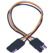 "Quick Cable 235301-2001 12"" Trailer Wiring, 2 Pole M/F"