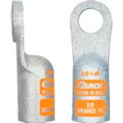 """Rapide, câble 4820-050F 3/8"""" Heavy Duty cosse cuivre sertir, calibre 2/0, 50 Pcs"""