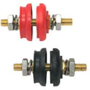 """Quick Cable 509670-001 Red Panel Bushing, 3/8"""" Post, 1 Pc"""