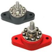 Quick Cable 509681-001 8 Point Distribution Post- Neg/Black, 160 Amps, 1 Pc
