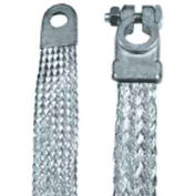 """Quick Cable 7001-2001 9"""" Straight Clamp-To-Lug, 4 Gauge,"""