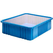 """Global Industrial™ Clear Dust Cover Inlays For 22-1/2""""Lx17-1/2""""W Dividable Grid Containers - Pkg Qty 3"""