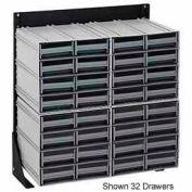 """Quantique QIC-148-83 48 """"H seul étage face Stand avec 64 meuble de rangement gris tiroir de verrouillage"""