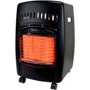 Chauffage au propane d'armoire radiante de 18000 BTU, 0,83 à 0,28 lb / h De carburant Cons.