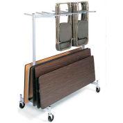 Pendaison plié Chaire & Table camion de stockage pour chaises Lifetime