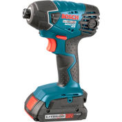 BOSCH 25618-02, 18V Litheon Impactor  Driver w/ Slim Batteries