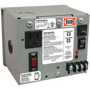 RIB® AC Power Supply PSH75AB10, Enclosed, Single, 75VA, Multi-Tap-24VAC, 10A Breaker