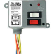 RIB® Dry Contact Input Relay RIB01SBCDC, Enclosed, 120VAC, 20A, SPDT, Override