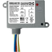 RIB® Enclosed Power Relay RIB2401B, 20A, SPDT, 24VAC/DC/120VAC