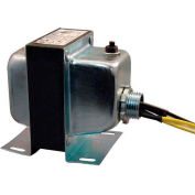 RIB® transformateur TR50VA005US, 50VA, 120-24V, simple Hub, pied Mont, disjoncteur