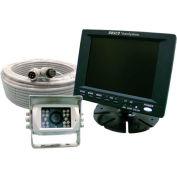 """Rosco 5"""" Color LCD, Rear Mount Cam 65' W/ Twist Lock Connectors - STSK5465"""