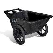 Rubbermaid® Big Wheel 5642 noire Agriculture utilitaire, pépinière & Farm Cart