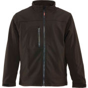 Non-Insulated Softshell Jacket Regular, Black - XL