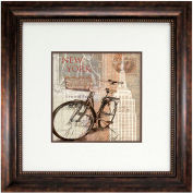 "Crystal Art Gallery - 5th Avenue - 26""W x 26""H, Double Mat Framed Art"