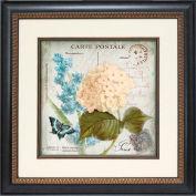 "Crystal Art Gallery - Flower Postcard 2 - 19-3/4""W x 19-3/4""H, Single Mat Fillet"