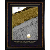 "Crystal Art Gallery - TRUMP Golf Winners and Losers - 26-1/8""W x 32-1/8""H, Straight Fit Framed"