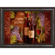 "Crystal Art Gallery - Framed Canvas w/Foil - 40""W x 30""H, Straight Fit Framed"