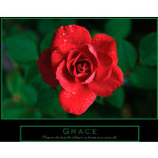 "Crystal Art Gallery - Grace Canvas - 28""W x 22""H, Canvas Wrap"