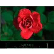 "Crystal Art Gallery - Grace Canvas - 28""W x 22""H, Canvas Wrap"