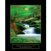 """Crystal Art Gallery - Individuality Canvas - 16""""W x 20""""H, Canvas Wrap"""