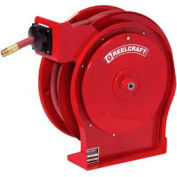 "Reelcraft A5850 OLP 1/2""x50' 300 PSI Premium Duty All Steel Spring Retractable Compact Hose Reel"