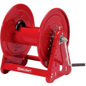 "Reelcraft CA32112 L 1/2""x200' 1000 PSI Heavy Duty Hand Crank Low Pressure Hose Reel"