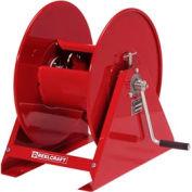 "Reelcraft H18006 M 1/2""x110' 4500 PSI Hand Crank Pressure Wash Hose Reel"