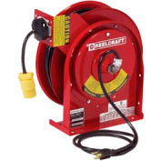 Reelcraft L 4035 163 3 16 AWG / 3 Cond  x 35ft, 15 AMP, Single Outlet, with Cord