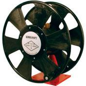 "Reelcraft T-1118-12 Safe-T-Reel 3/4""x 75' 250 PSI Hand Crank Organization Hose Reel"