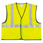 Class II Economy Safety Vests, RIVER CITY VCL2SLX3, Size 3XL