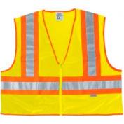 Luminator™ classe II sécurité gilets, ville de la rivière WCCL2LL, taille L