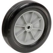 """Global Industrial™ Replacement 12"""" Rubber Wheel for HD & Extra HD Tilt Trucks"""