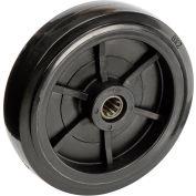 "Global Industrial™ Replacement 8"" Wheel & Hardware For 1 Cu. Yd. Standard Duty Tilt Trucks"
