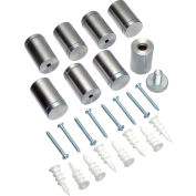 Hardware Replacement Kit for all Global Industrial™ Glass Boards