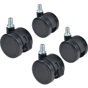 Remplacement Pop-In Mobile Board Casters pour Global Industrial™ Mobile Boards, 4/Set