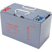 Batterie AGM de remplacement 12V 100Ah - 641263, 641264, 641244, 641265, 641407