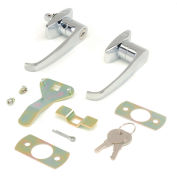 Global Industrial™ Replacement Lock Set W/Keys for Cabinet Model 603355, 603357, 237614, 237615