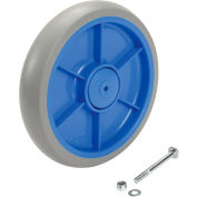 """Replacement 7"""" Wheel with Screw & Nut for Model 241301 Global Industrial™ Folding Hand Carts"""