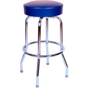 "Richardson Seating Swivel Barstool - 24""H - Blue"