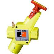 Robinet d'interdiction pneumatique Manual L-O-X® ROSS®Y1523C4002, 1/2 po NPT