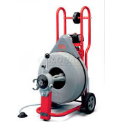 "RIDGID® K-750 Drum Machine W/queue de cochon, Autofeed & gants, 3/4"", 115 v, 60 HZ, 1/2HP, 200 tr/min"