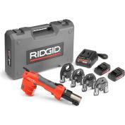 """Ridgid 57363 RP 241 Battery Press Tool Kit w/ProPress Jaws, 1/2"""" - 1 1/4"""""""