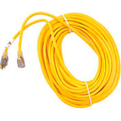 U.S. Wire 74100 100 Ft. 12/3 W/ Illuminated Plug