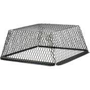 """Évents d'HY-C toit peint en noir Galvanisé acier 25 """"x 25"""" x 12 """"-RVG2525G"""