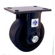 "RWM Casters 75 Series 12"" Cast Iron Wheel Rigid Caster - 75-CIR-1230-R"