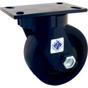 "RWM Casters 75 Series 6"" Nylatron® HD Wheel Swivel Caster - 75-NYB-0630-S"